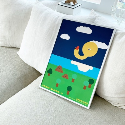 [KEEERI x BFMA] EVERYTHING 포스터 A4,A3 -GOD B Y
