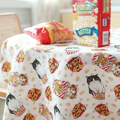 패턴시리즈 - 팝콘고양이 (145X90cm)