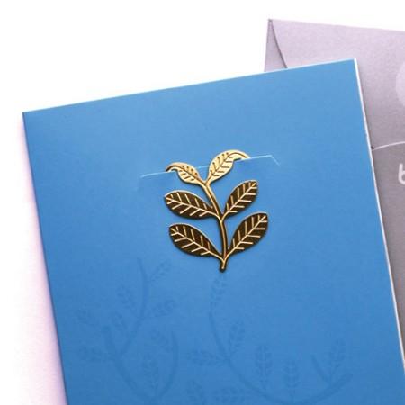 심플 숲속에서 - 책갈피카드