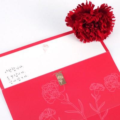 카네이션 봉투 Money Envelope 2장세트