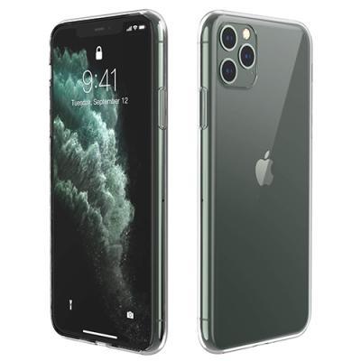 뮤즈캔 아이폰11프로맥스 투명 강화유리 케이스