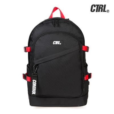 [씨티알엘]A-3 MILITARY BACKPACK (BLACK/RED)