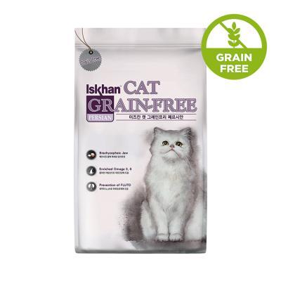 이즈칸 캣 그레인프리 페르시안 2.5kg 고양이 사료