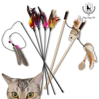 [딩동펫]고양이 장난감 낚싯대장난감
