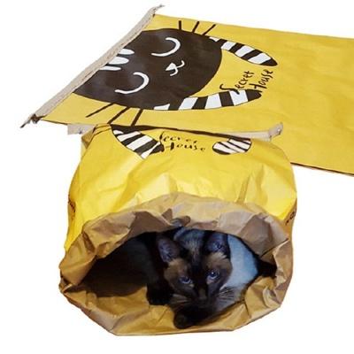 힐링타임 시크릿 페이퍼 하우스 바스락 고양이 하우스