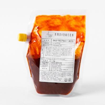 라비퀸 옛날 떡볶이 액상소스 1kg (보통맛, 매운맛)