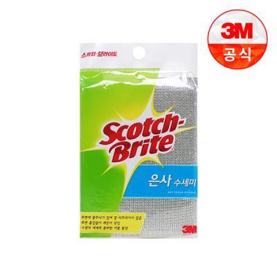 [3M]항균 은사 수세미 1입(일반세척용)