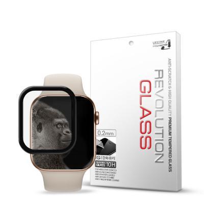 프로텍트엠 애플워치4 3D 풀글루 강화유리 필름