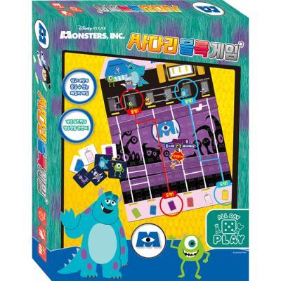 보드게임 - 몬스터 주식회사 사다리 블록 게임