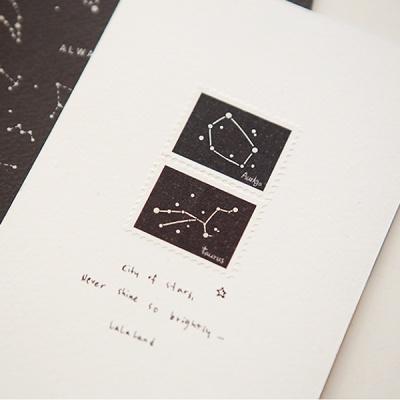 마스킹테이프 : stamp - 06 Constellation