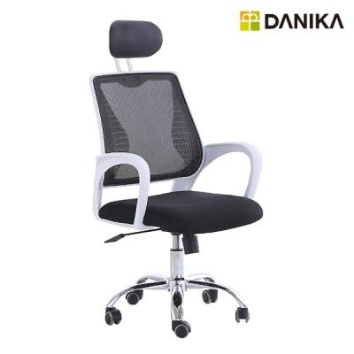 D-LUX 프리미엄 화이트 메쉬 의자 CY-999W