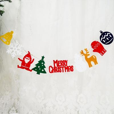 크리스마스 홀리 미니 가랜드