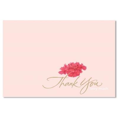 홀마크 감사 카드(카네이션)-KED1561