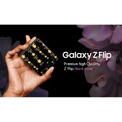 삼성 골드하트 갤럭시 Z플립케이스 Z Flip 하드케이스