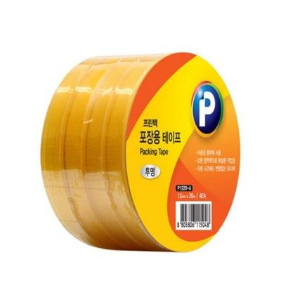 P1220m 4 포장용 테이프(투명 12mmx20m 4ea)