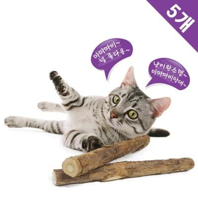코코브라운 마따따비 막대 2P x5 고양이장난