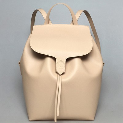 Back and Bucket bag cream
