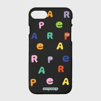 Earp Alphabet-black(color jelly)