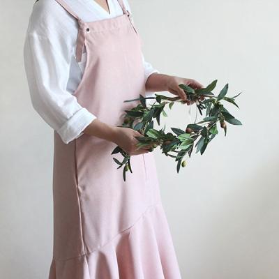 심플 윈프릴 앞치마(핑크)
