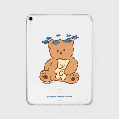 Blue bird bear(아이패드-투명)