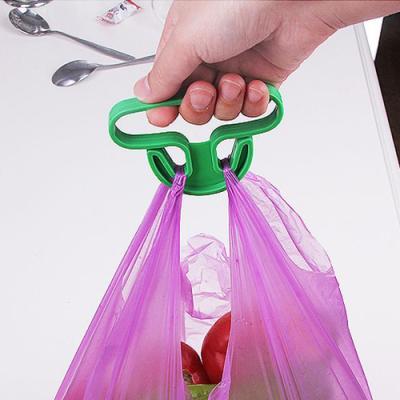 간편형 비닐봉지 손잡이 1개(색상랜덤)