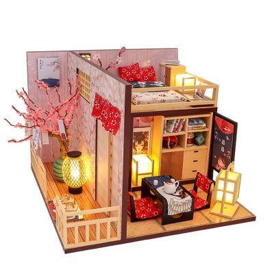 DIY 미니어처하우스 벚꽃 원룸