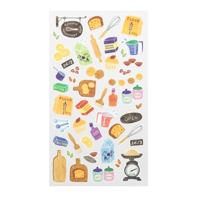 Sticker Marche - Tools for Baking