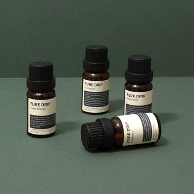 퓨어드립 유기농 에센셜 오일 10ml/향기치료/섬유향수