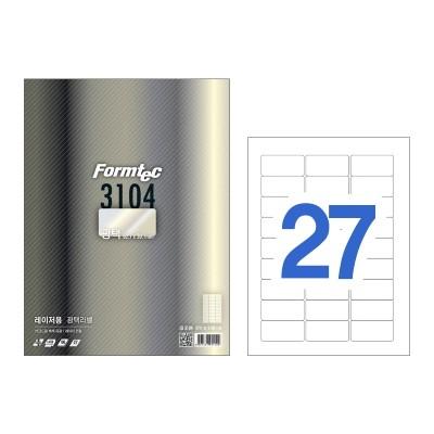 폼텍 레이저용 광택라벨/LB-3104