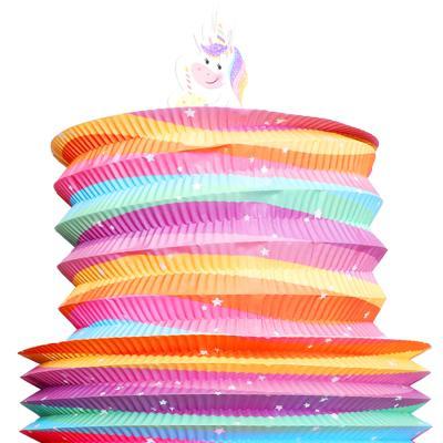 케이크 모형 행잉데코 (유니콘)