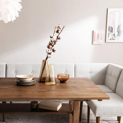 [푹쉼] 두리 원목 6인 다이닝 테이블 식탁