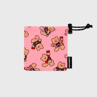 Dot dancing bear-pink(미니 스트링)