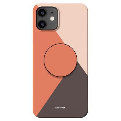 KP021 아이폰12미니 심플 컬러 스마트톡 하드 케이스