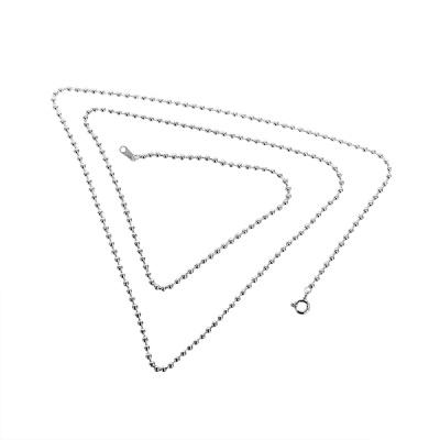 [BC000N0D22] 2.2mm 볼 체인 은목걸이
