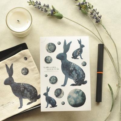 Miccudo 프린팅 스티커 세트 (1. Rabbits)