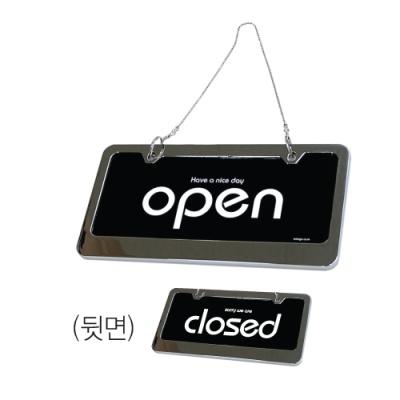 [아트사인] 양면표지판OPEN/CLOSE (스텐,7802) [개/1] 136668