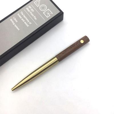 LOG BP-301 (Brass+Walnut) 황동 호두나무 볼펜