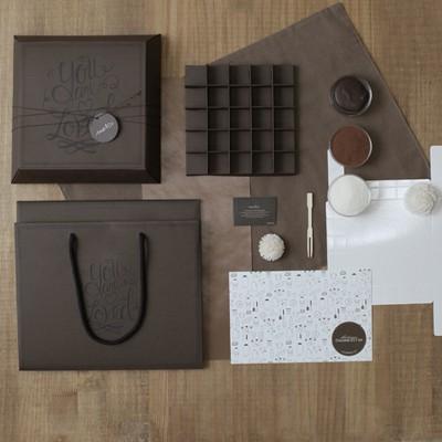 디비디 파베 초콜릿 만들기 세트 - Coco (25구)