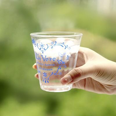 마메종 블루로즈 썸머글라스 유리컵 S