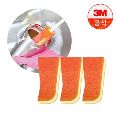 [3M]보틀 수세미용 리필(1입)_스테인레스용 3개