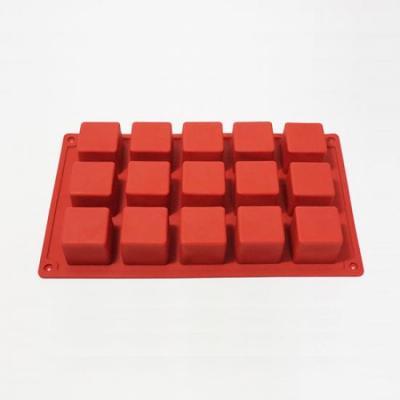 카페테리아 실리콘 15구 큐브모형 몰드 1개