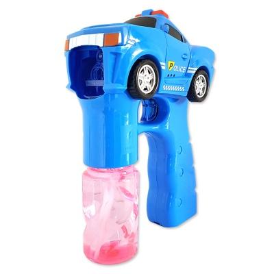 경찰 자동버블건 블루 / 비눗방울 버블건