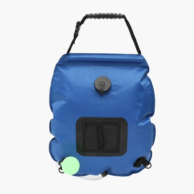 온도측정 캠핑 샤워기(20L) (블루)/ 휴대용샤워기