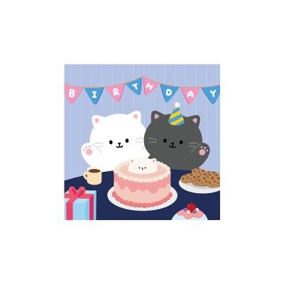 민트초코 생일 엽서