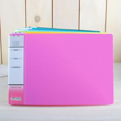 Color Lever File A5-세금철 / 레버 파일 / 칼라 파일