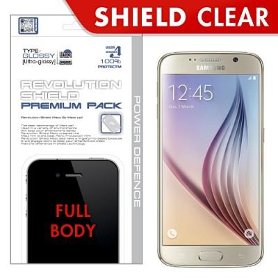 [프로텍트엠/PROTECTM] 갤럭시S6/GALAXY S6/SM-G920 레볼루션쉴드 프리미엄팩 전신보호필름+액정보호필름