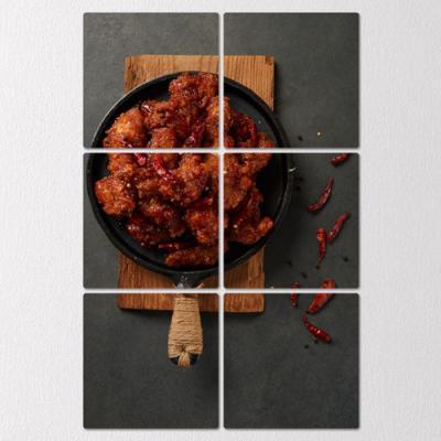 if767-멀티액자_맛있게매운치킨