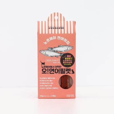 강아지 연어 필렛 스틱 4개입 (26g)