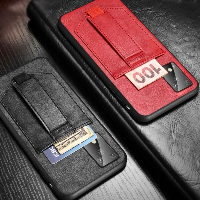 갤럭시노트10/노트10플러스 카드포켓 스트랩 폰케이스