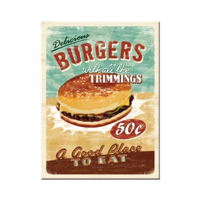 노스텔직아트[14230] Burgers